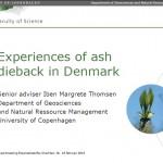 Ash dieback presentation Essentaksterfte NL IMT 2015